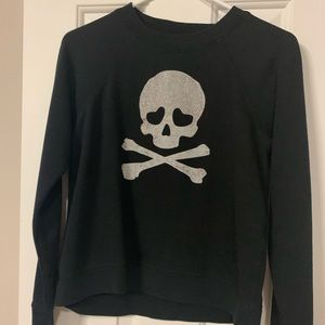 Betsey Johnson skull sweatshirt XS